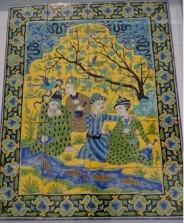 Panneau mural - une assemblée de mystiques