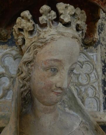 104 vierge a lenfant - nevers - tete vierge