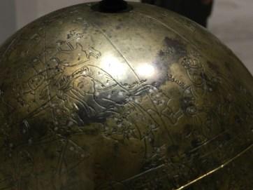 113 globe celeste detail 2
