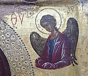 131 - vierge de tendresse - ange de droite