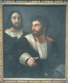 132 - autoportrait avec un ami - raphael