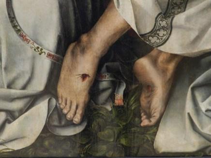 136 trinite - coter - pieds du christ