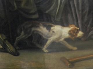 191 fils puni - greuze - chien