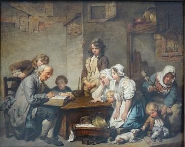 191 - greuze - lecture de la bible 1