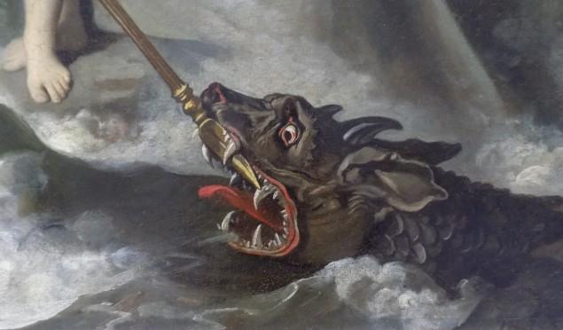 203 - ingres - roger delivre angelique - monstre