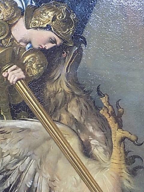 203 - ingres - roger delivre angelique - tetes de roger et de sa monture