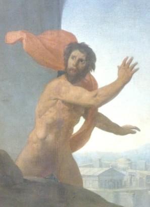 203 - oedipe explique lenigme du sphinx - ingres - thebes