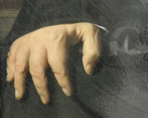 204 bertin - ingres - detail main droite 2