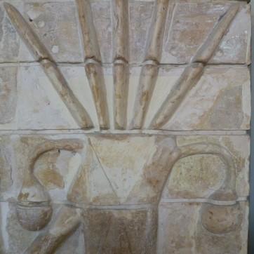 22 homme-taureau et palmier - suse - haut du palmier