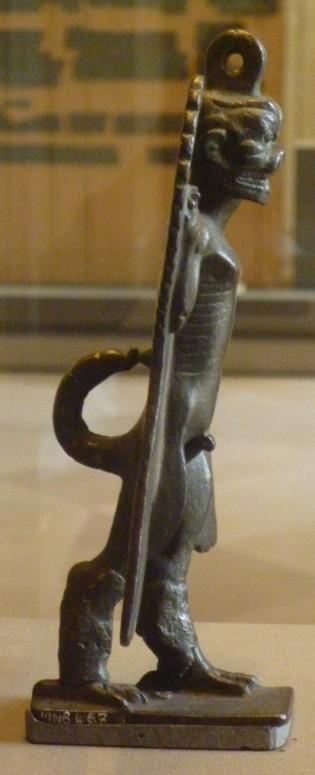 37 pazuzu - assyrie - profil gauche