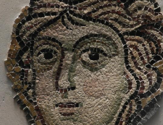 96 tete dange - basilique de torcello - visage