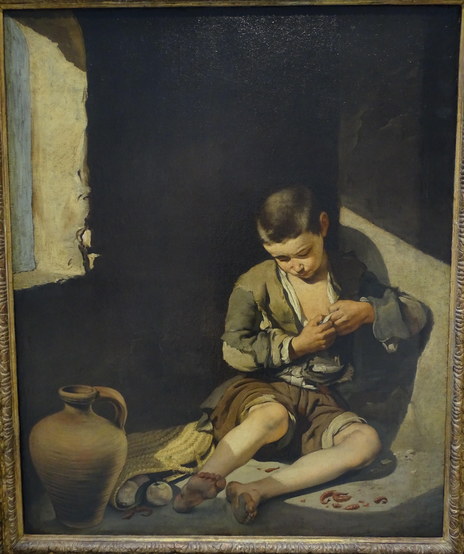 parcours b oeuvre n°13 - le jeune mendiant