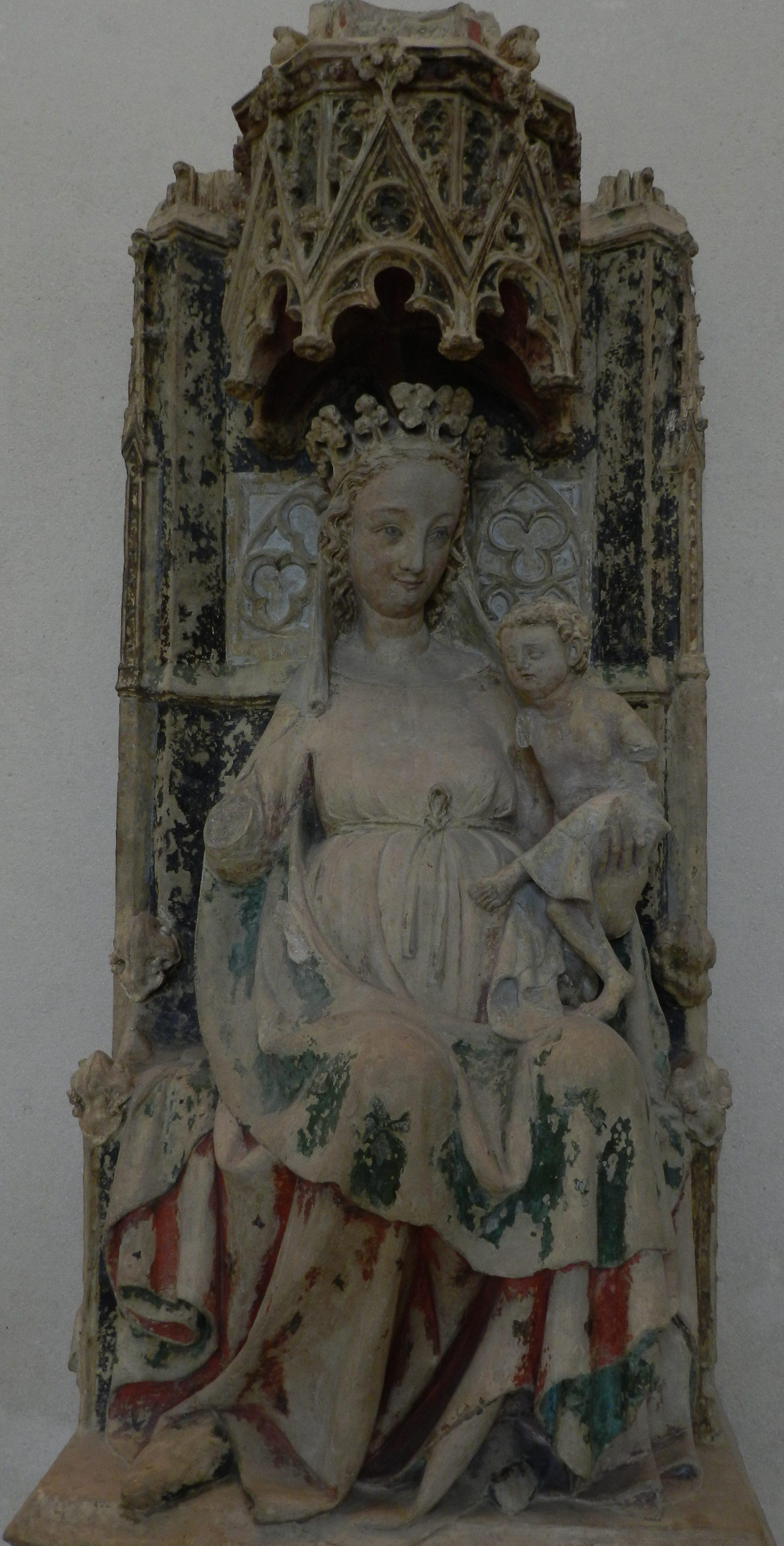 105 - Vierge à l'enfant - Nevers