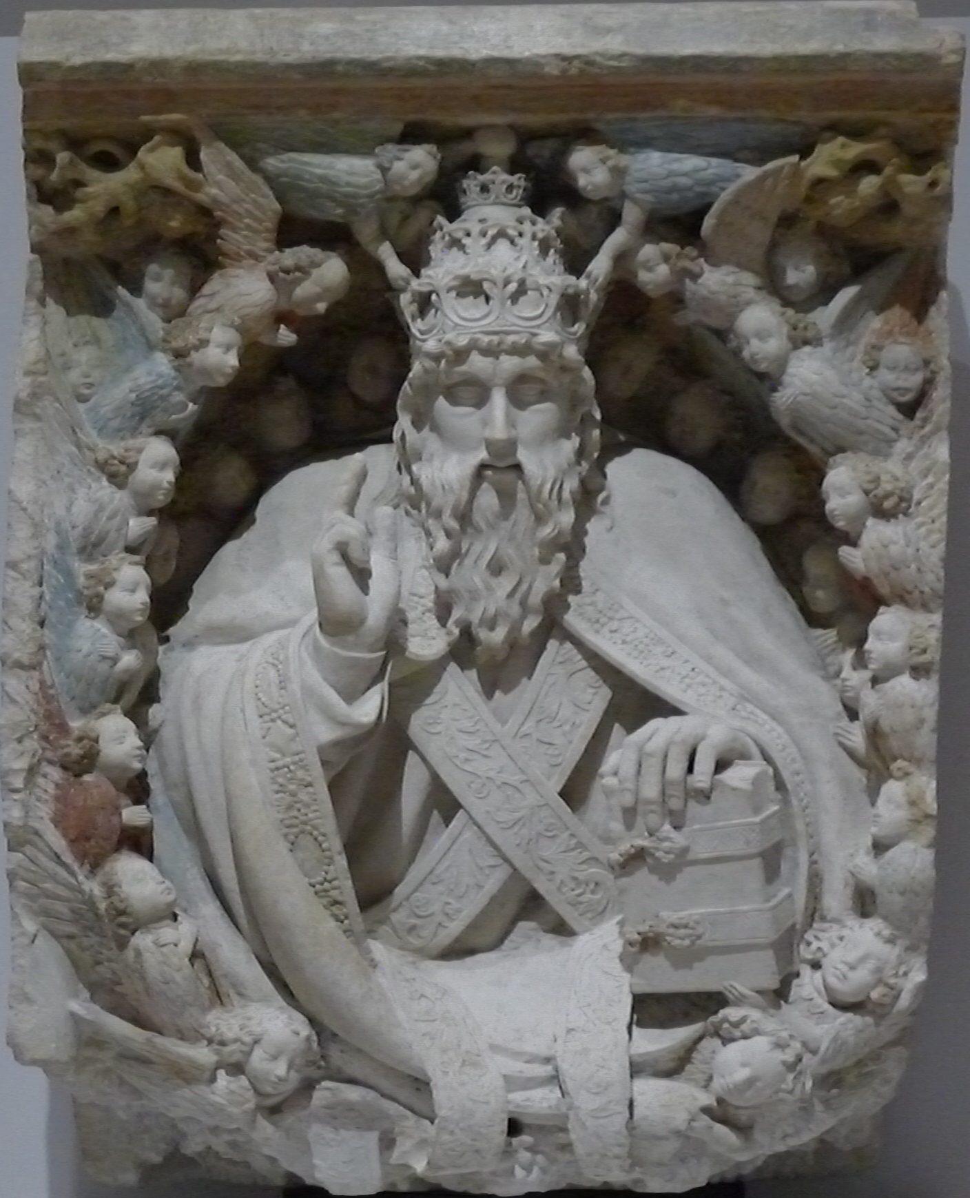 122 - Père bénissant